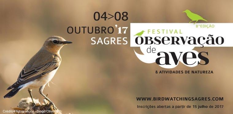 Festival de Observação de Aves & Atividades de Natureza - Inscrições abertas